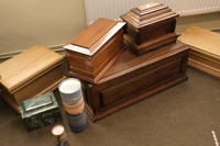 Sharkey Funeral Directors cremation and funerary urns